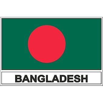 Stick naklejki flaga bangladesz BD