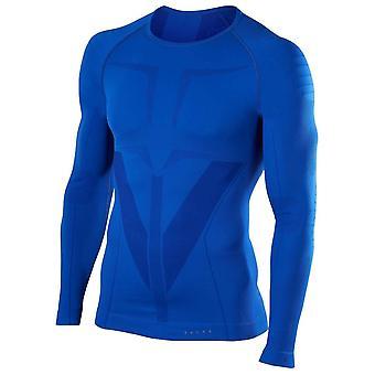 Falke Tight Fit chemise à manches longues - Yve bleu