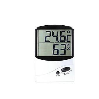 TechBrands Large Digital Display Thermometer/Hygrometer