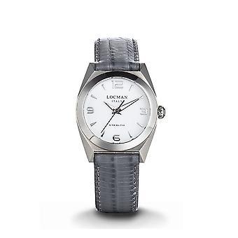 LOCMAN - Wristwatch - Ladies - 0804A08A-00WHNKPI - STEALTH LADY ONLY TIME QUARTZ