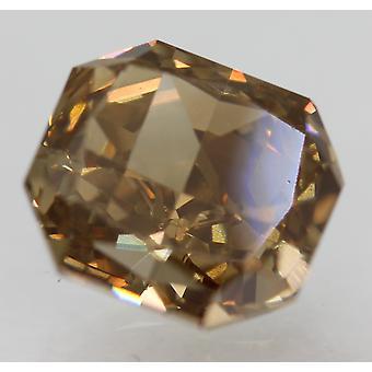 Cert 2.02 Carat Int Brown VVS1 Radiant Natural Loose Diamond 7.17x6.61mm