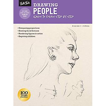 Drawing - People with William F. Powell - Learn to draw step by step by