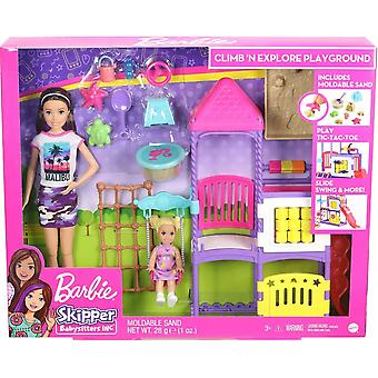 Barbie Skipper Babysitter Climb & Explore Playground