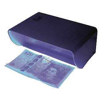 Single Tube Ultraviolet Counterfeit Bank Note Checker Detector
