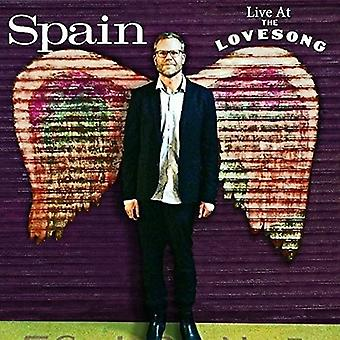 Spain - Live at the Lovesong [CD] USA import