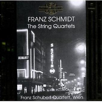 F. Schmidt - Franz Schmidt: Les quatuors à cordes [CD] USA import