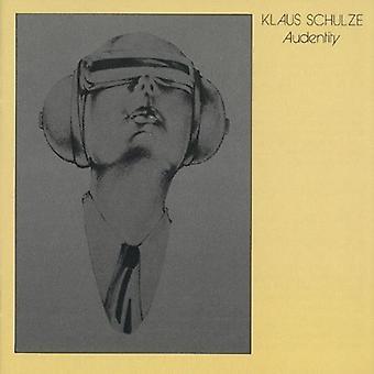 Klaus Schulze - Audentity [CD] USA import