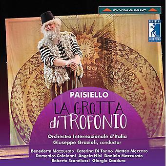 Paisiello / Grazioli / Mazzucato / Tonno / Mezzaro - Giovanni Paisiello: La Grotta Di Trofonio [CD] USA import