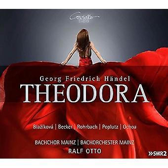 Handel / Blazikova / Otto - Theodora [CD] USA import