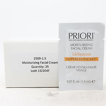 Priori Idebenone Hydraterende Facial Cream Pack Van 25 / Nieuw