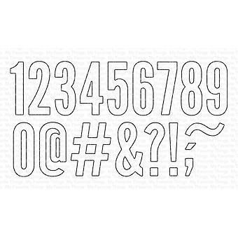 Mis cosas favoritas impactan los números Die-namics