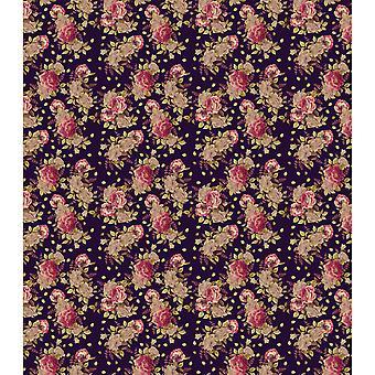 "Craft Consortium Decoupage Papers 13.75""X15.75"" 3/Pkg-Autumn Bloom"