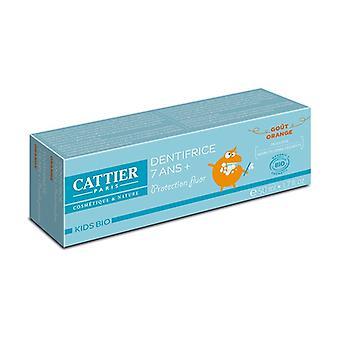 Organic toothpaste 7 years and + 50 ml (Orange)