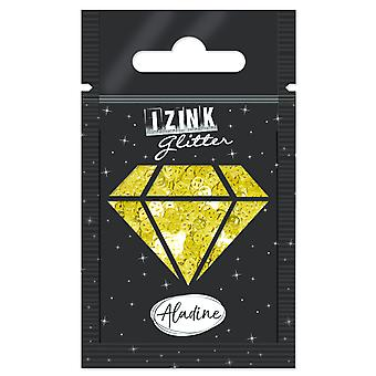 Aladine Izink Glitter Gold Smiley
