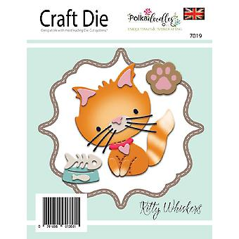 Polkdoodles Kitty Whiskers Dies