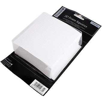 Dovecraft 3D Foam Squares Bumper 20 Sheets Pack