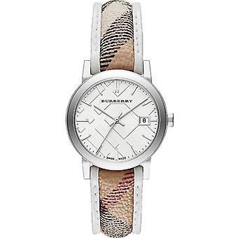 Burberry BU9136 יימרקט עיר פלדת אל-חלד נשים ' s שוויצרי שעונים