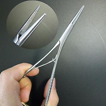 Dental Mathieu Needle Holder Stainless Steel Pliers Forceps Orthodontic Tweezer
