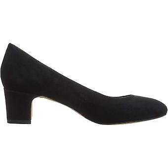 Brand - 206 Collective Women's Merritt Round Toe Block Heel Pump-Low