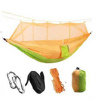 Outdoor Camping Portable Hammock Parachute Nylon Folding Sleeping Hammock 260X140cm