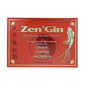 Zen Gin 20 bulbs of 10ml
