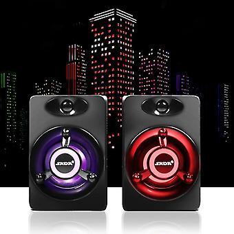 Usb Subwoofer Deep Bass și Pc Speaker Portabil Fo (negru)
