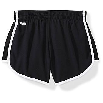 """Starter Girls' 3"""" Stretch Running Short, Exclusive, Black, S (6/6X)"""