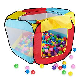 Portable Play Kids Tent For - Indoor, Outdoor Ocean Ball Pool