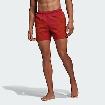 Adidas Men's Solid Swim Shorts DY6403