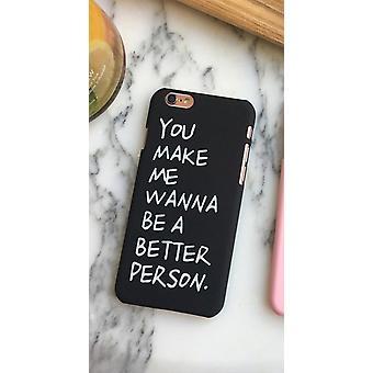 أنت تجعلني أريد أن أكون شخصًا أفضل - iPhone SE (2020)