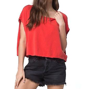 Wolni ludzie | Let It Go Scoop Neck Textured Casual Top