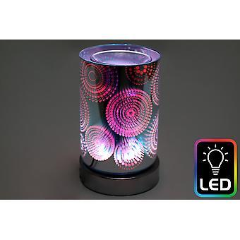 Circle LED Oil Burner (UK Plug)