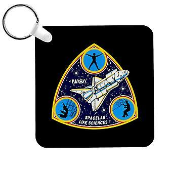 NASA Spacelab Life Sciences 1 Mission Badge Keyring