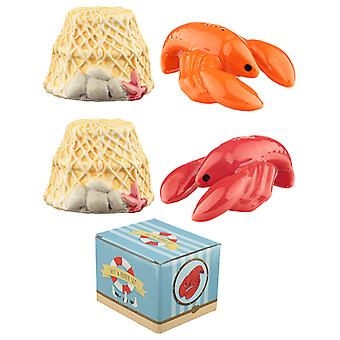 Fun Seaside Lobster Salt and Pepper Set X 1 Pack