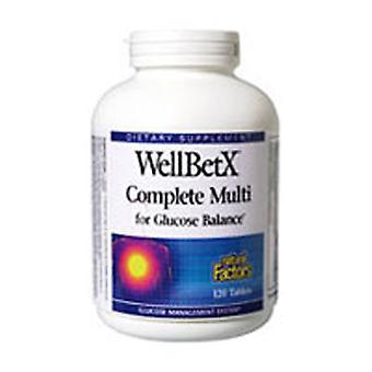 Luonnolliset tekijät WellBetX, Täydelliset Multi 120 -välilehdet
