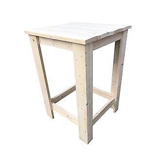 """Wood4you - Bar Tisch """"Finn"""" Bar Tisch -neues Gerüst Holz - 80Lx110Hx80D cm"""