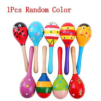 Wood Maracas Hammer, Music Instuments Montessori Educational