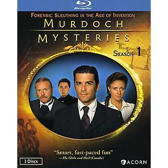 Murdoch Mysteries: Season 1 [BLU-RAY] USA import