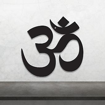 Om Symbol Metal Wall Decor