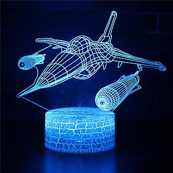3D Touch Light Night 7 LED colors remote control - Avion #268