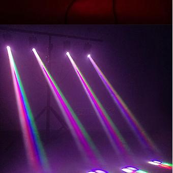 Mini 10w stråle rörligt huvud ljus Rgbw 4in1 För Party Disco Dmx