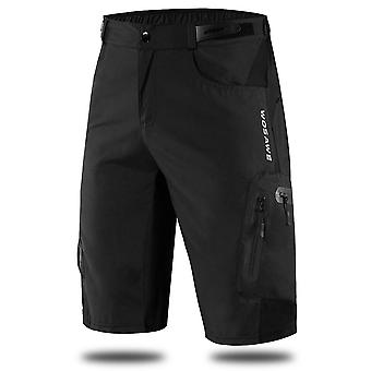 Men Padded Baggy Cycling Shorts, Reflective Mtb, Mountain Bike Bicycle Riding