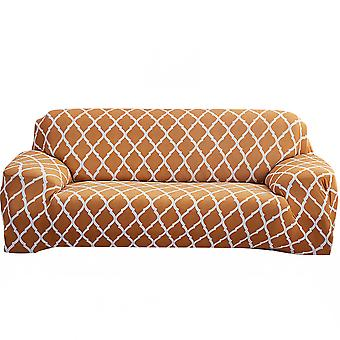 1 2 3 4 Seater Loveseat Stretch Sofa Geometric Pattern Slipcover