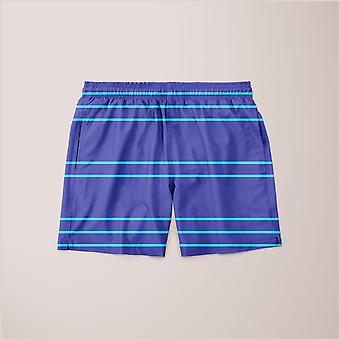 Simple lines pattern pt poster shorts
