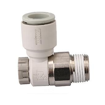 Pneumatic Air Speed Control Valve Fitting Connector 12mm AS2201F-03-12SA