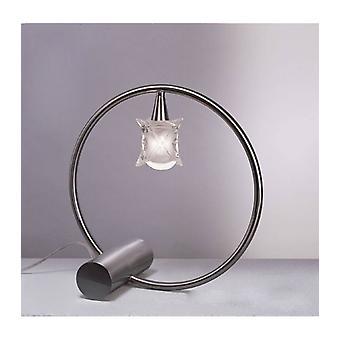 Rosa Del Desierto 1 Bulb G9 Tafellamp, Satijnnikkel