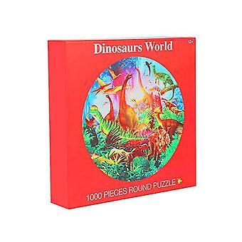 1000 Adet Yapboz Dinozor Dünyası