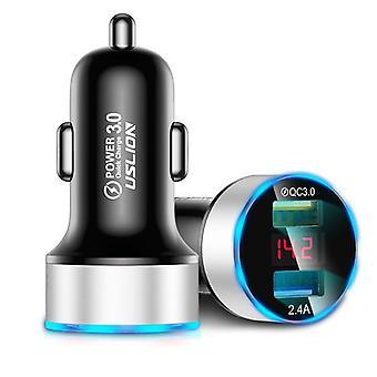 Caricabatterie per auto veloci per telefono cellulare Universal Dual Usb Adapter per iphone