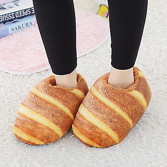 Non-slip Novelty Funny Gift One Size Warm Heel Slippers