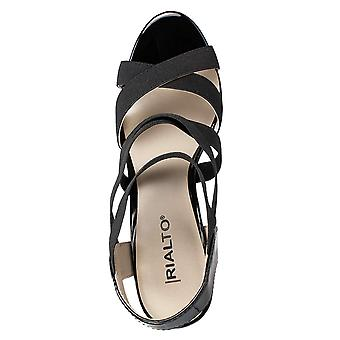 Rialto Womens Rodelle Open Toe Casual Strappy Sandals